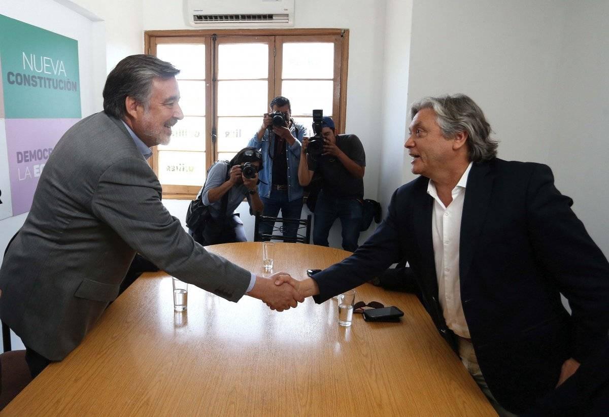 Guillier y Navarro