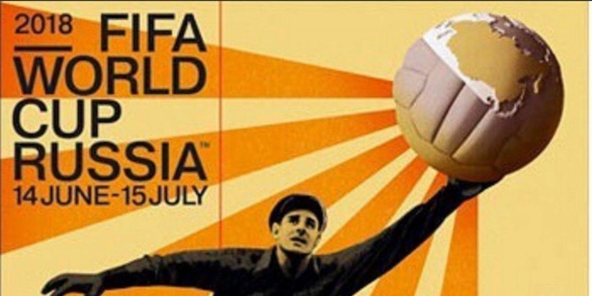 "Una ""araña"" es la estrella del póster oficial del Mundial de Rusia"