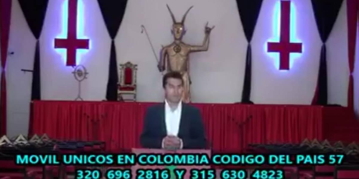 El temeroso video de una iglesia satánica que asusta en redes