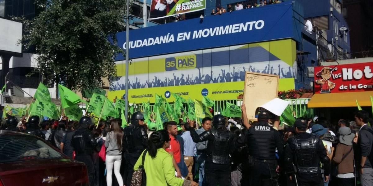 Alianza PAIS vende su sede simbólica en Quito