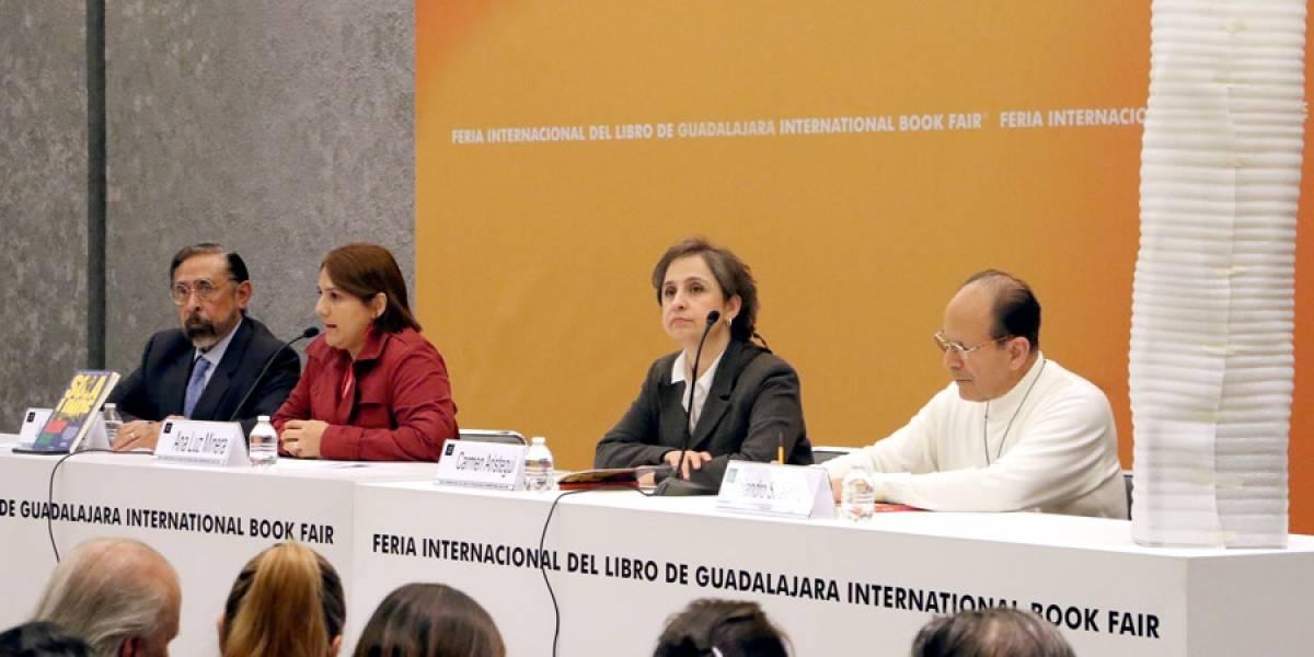 Solalinde y Aristegui abogan por los migrantes