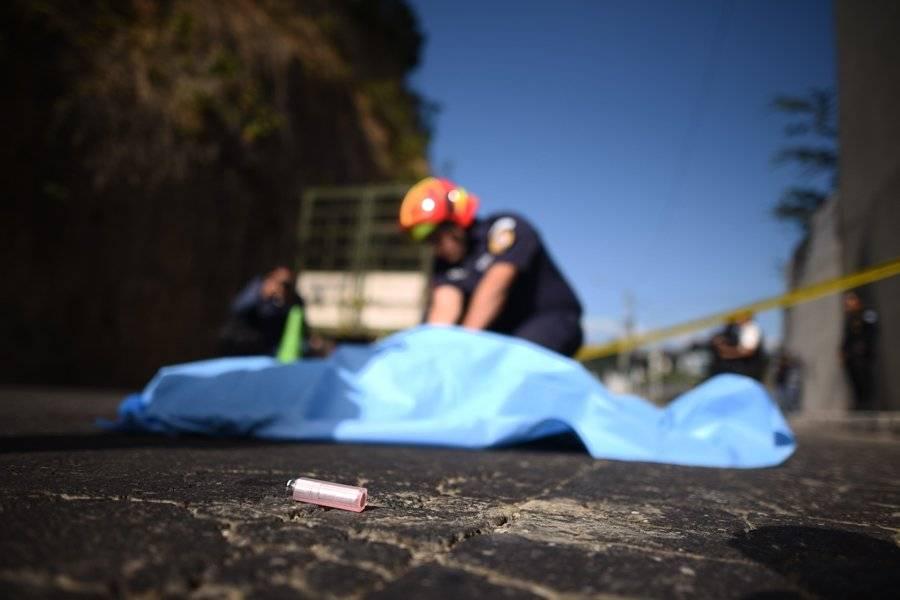 Colombiana asesinada en zona 6