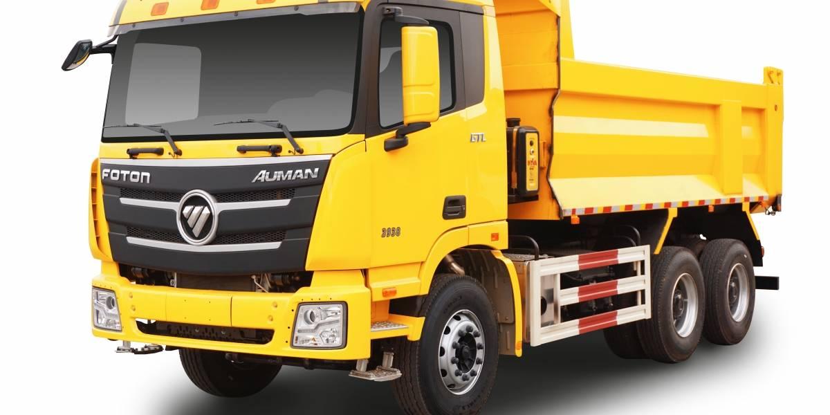 Con un nuevo camión tolva, Foton aumenta su portafolio