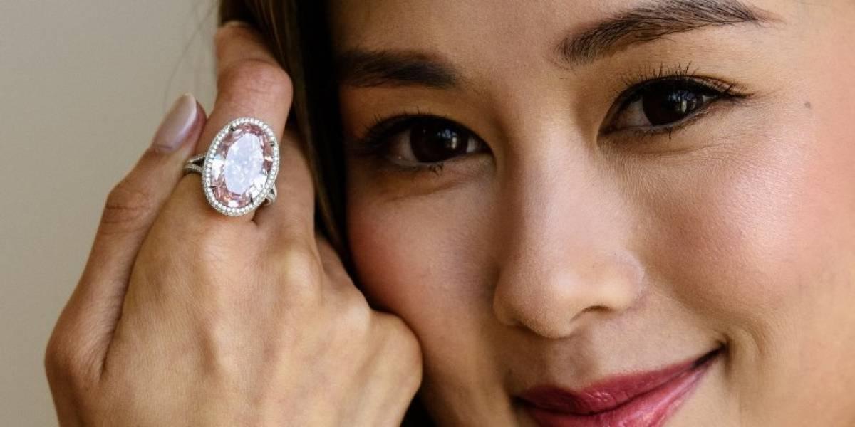 La ostentosa cifra en la que se remató diamante en Hong Kong