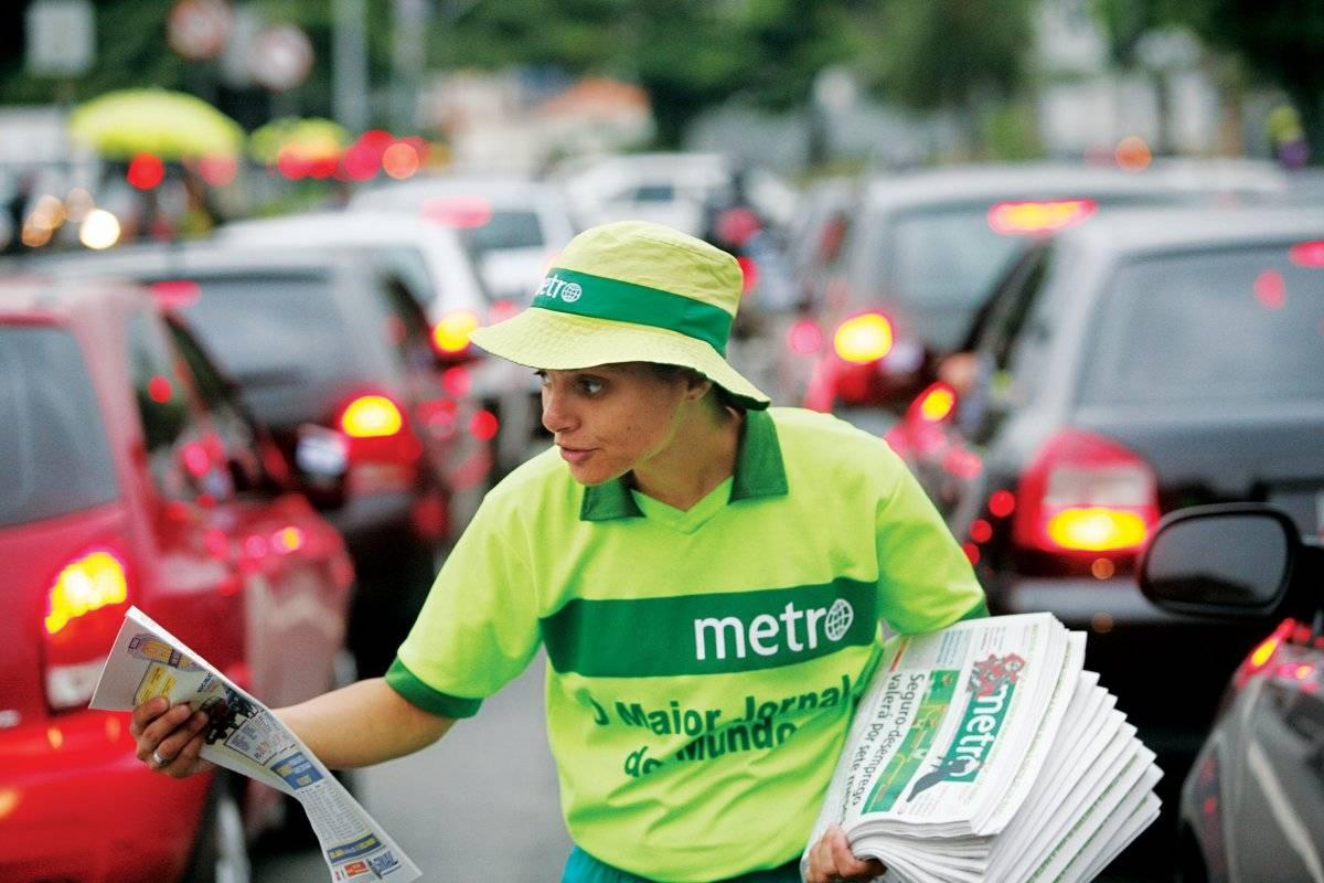 Distribuição Jornal Metro