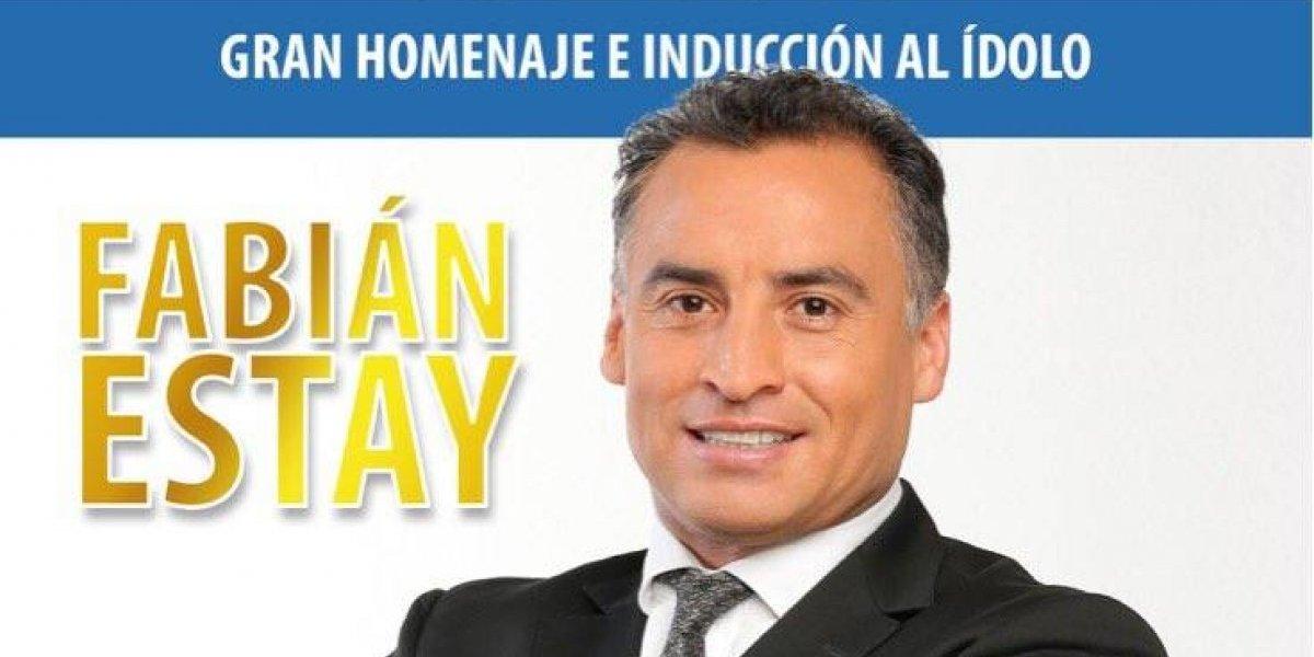 Fabián Estay será homenajeado en el Salón de la Fama del Deporte
