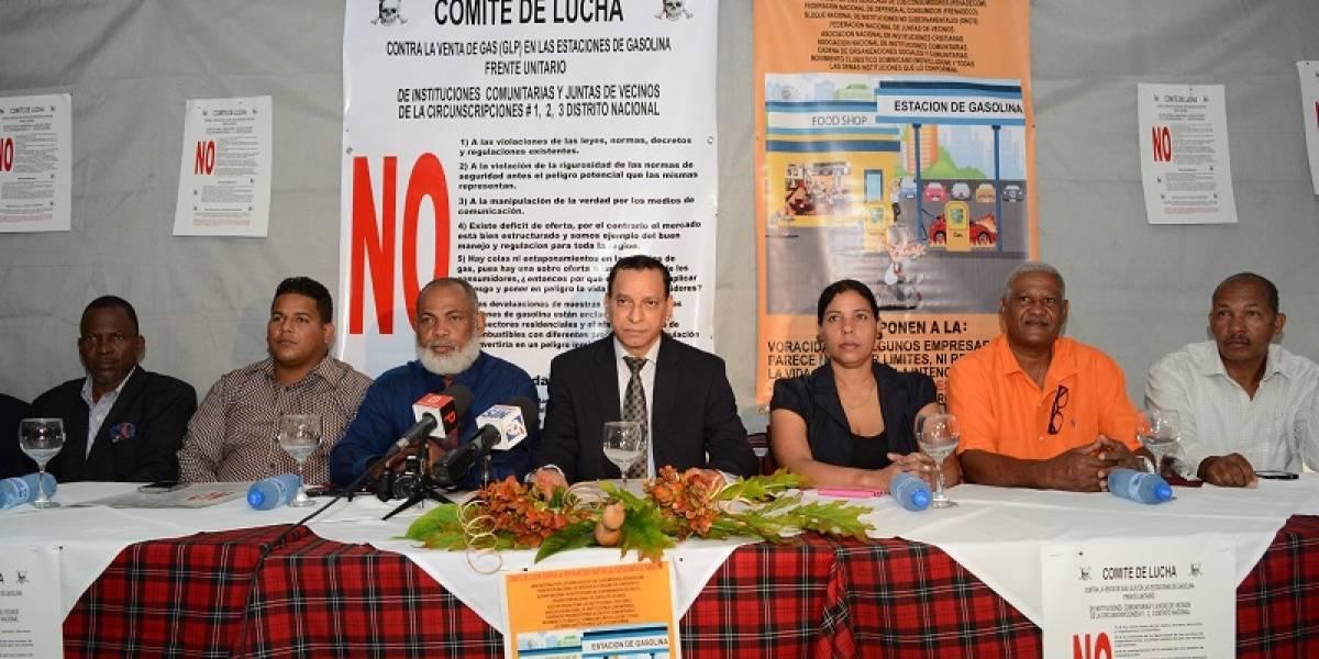 Comité felicita a Medina por no aceptar la venta de gasolina y GLP en conjunto
