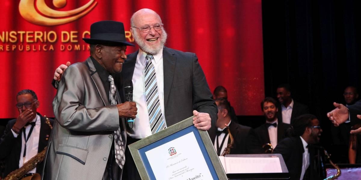 Joseíto Mateo recibió homenaje por sus 70 años de trayectoria en la música popular