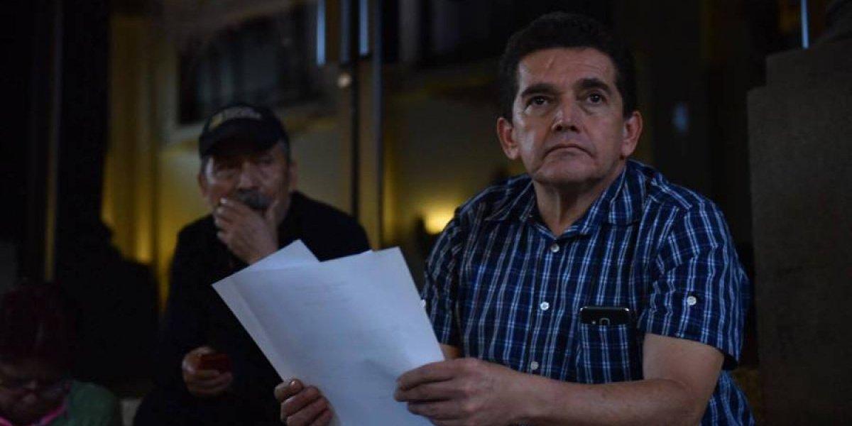 Joviel Acevedo llega al Congreso para exigir aprobación del Presupuesto