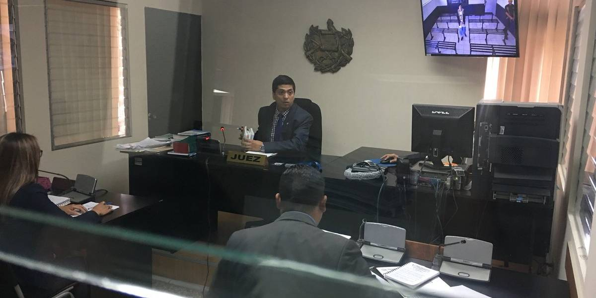 MP presenta solicitud de antejuicio contra juez Mynor Moto