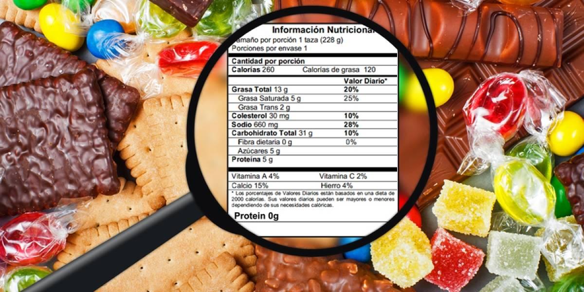 Etiquetados frontales de los alimentos son importantes para la salud pública