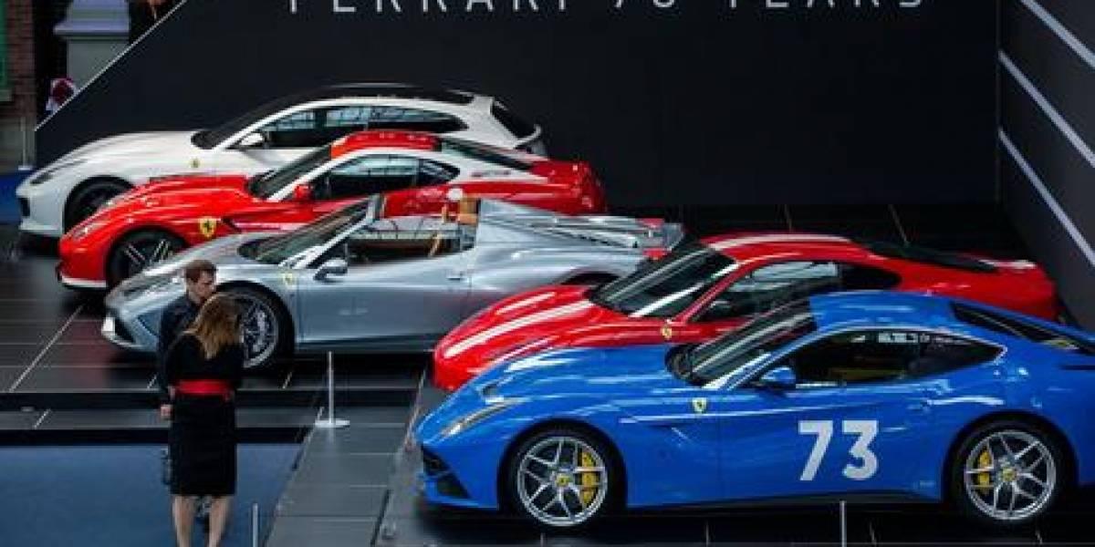Visitas em museus da Ferrari batem recorde na Itália