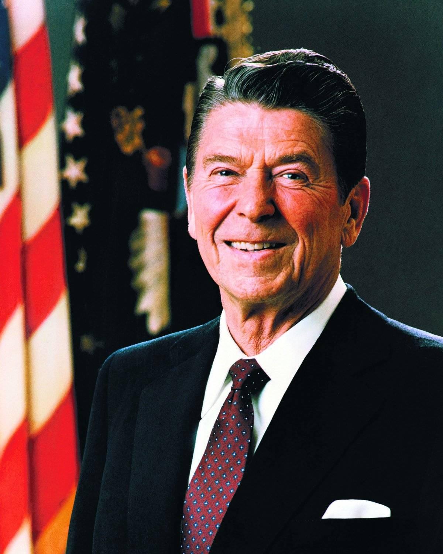 Reagan no sabía actuar como presidente::