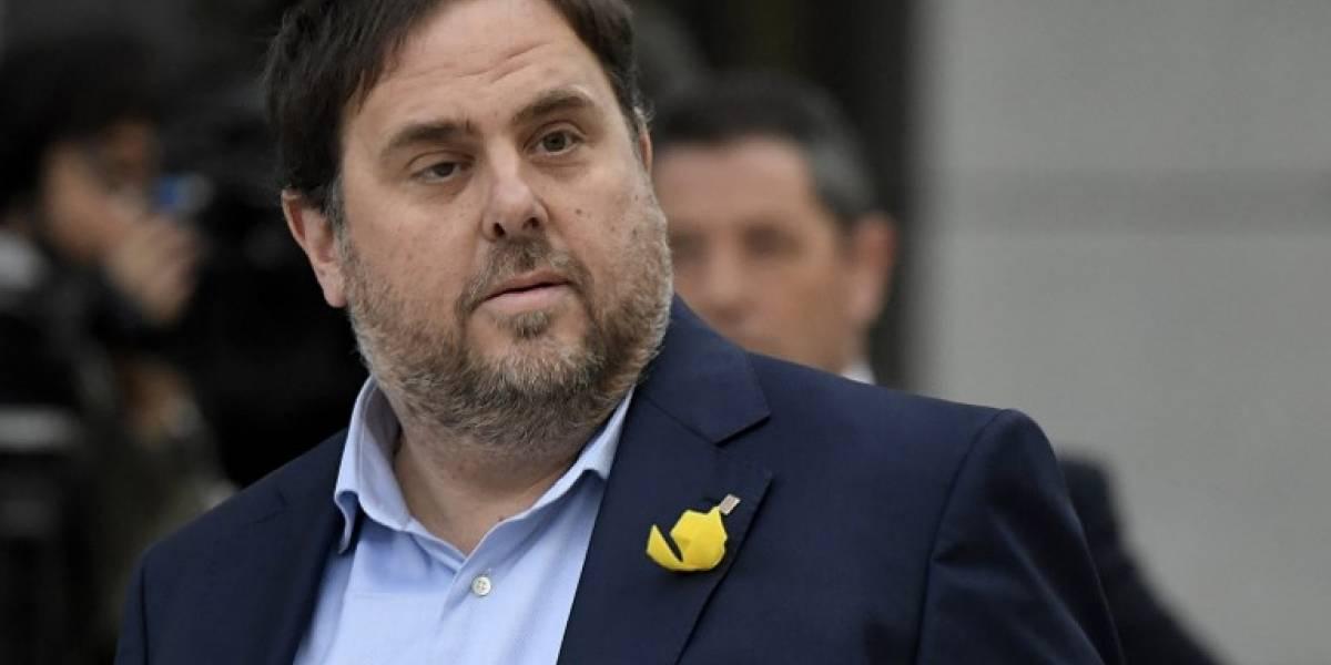 Ex vicepresidente catalán pide salir de prisión y renuncia a la unilateralidad