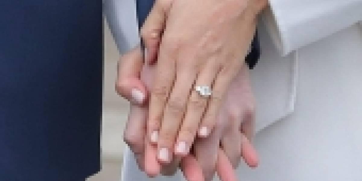 Así fue como el príncipe Harry diseñó el anillo de compromiso que le regaló a Meghan