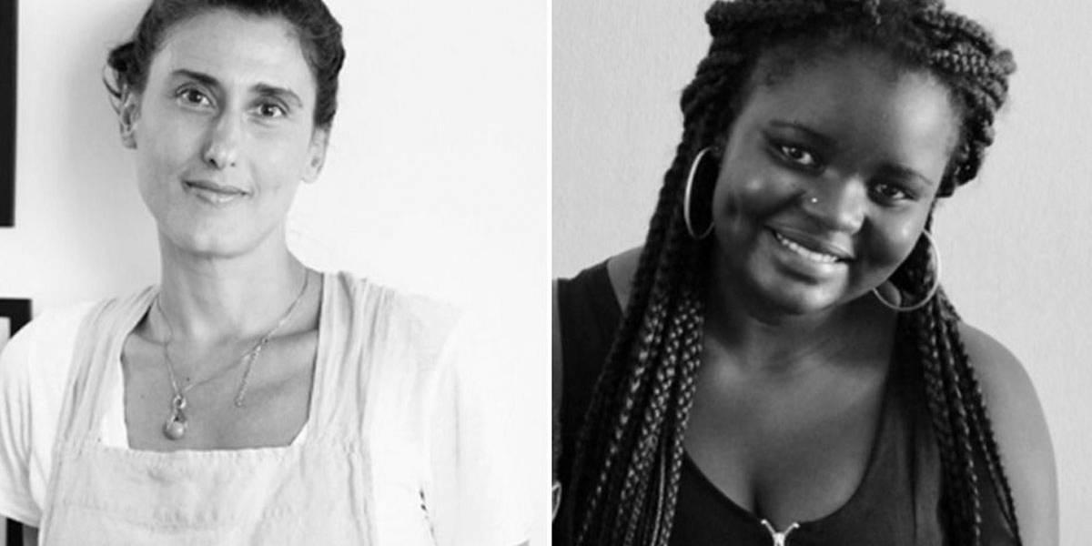 Paola Carosella dá aula de culinária com refugiada angolana