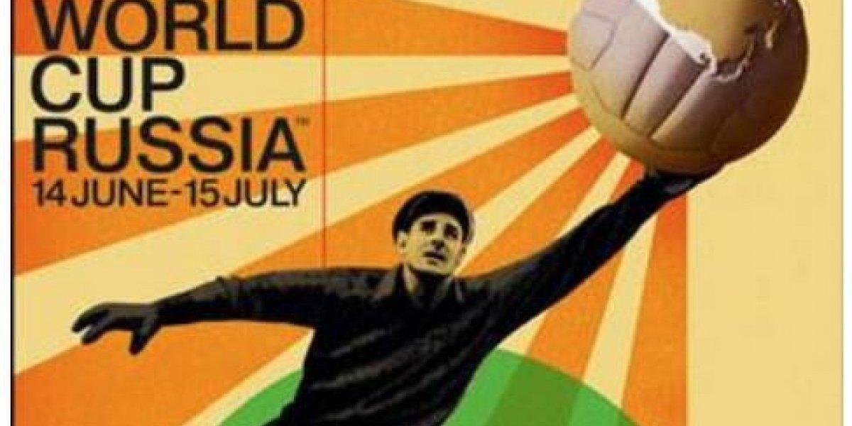 Alabado póster oficial de Rusia 2018