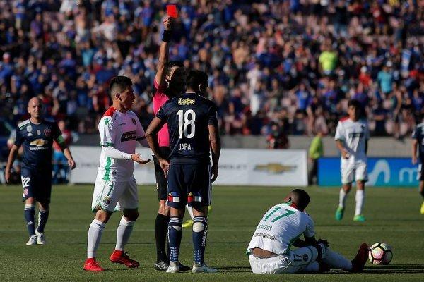 Gonzalo Jara no va más en la U para el Transición / imagen: Photosport