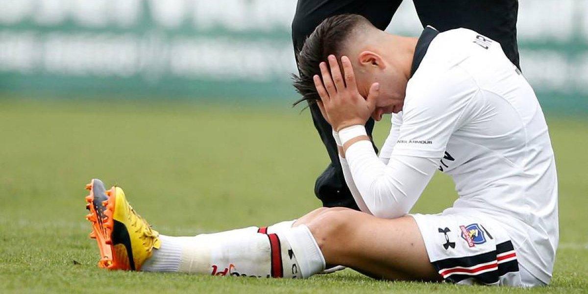 Problemas para Pablo Guede en Colo Colo: Óscar Opazo podría perderse el resto del torneo
