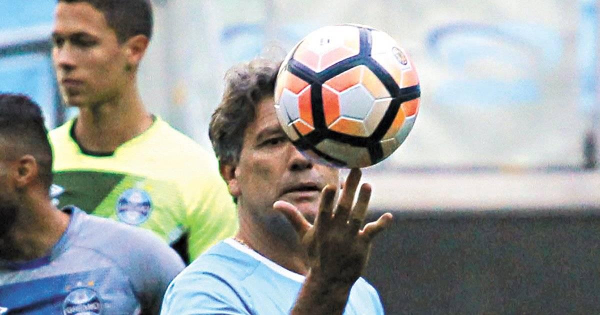 Renato Gaúcho é o comandante gaúcho | Fernando Alves/Folhapress