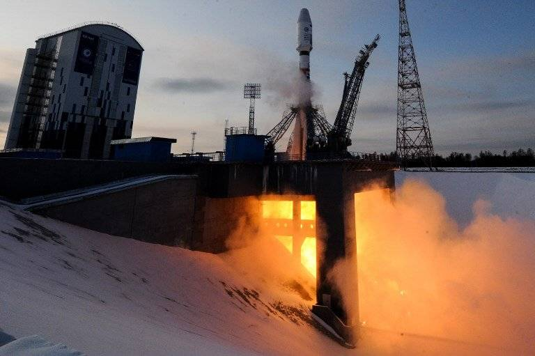 Lanzamiento de satélite ruso