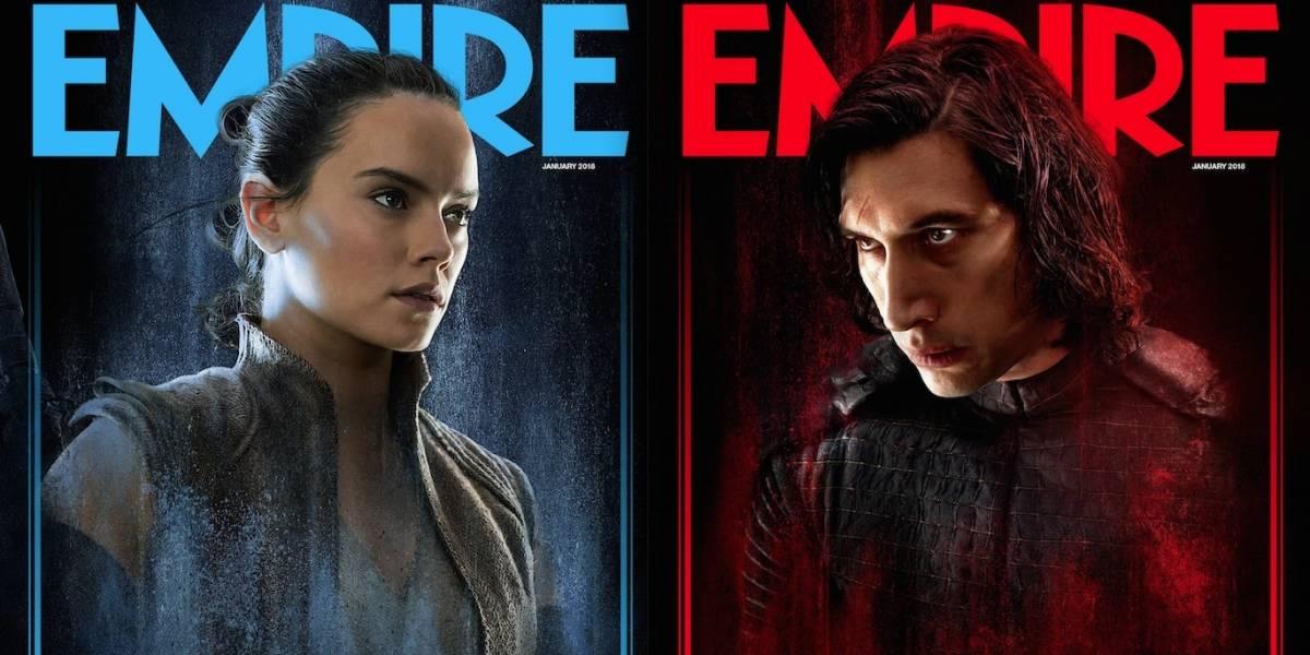 Rey e Kylo Ren estrelam capas de revista sobre Star Wars: Os Últimos Jedi