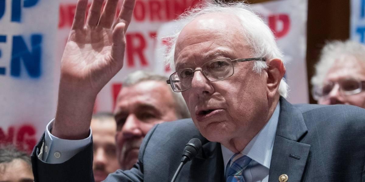 Bernie Sanders presenta plan para reconstruir a Puerto Rico