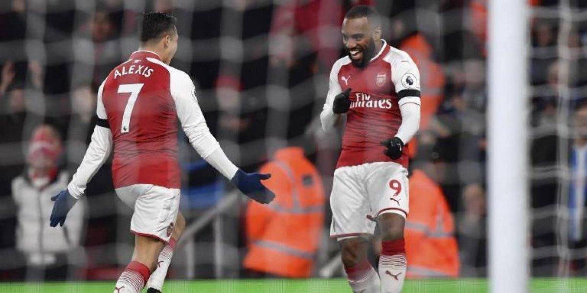 Así vivimos la goleada de Arsenal ante Huddersfield con gol de Alexis incluido