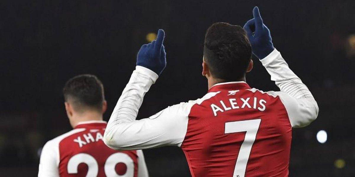 Arsenal le pasó por encima al humilde Huddersfield al ritmo de Alexis