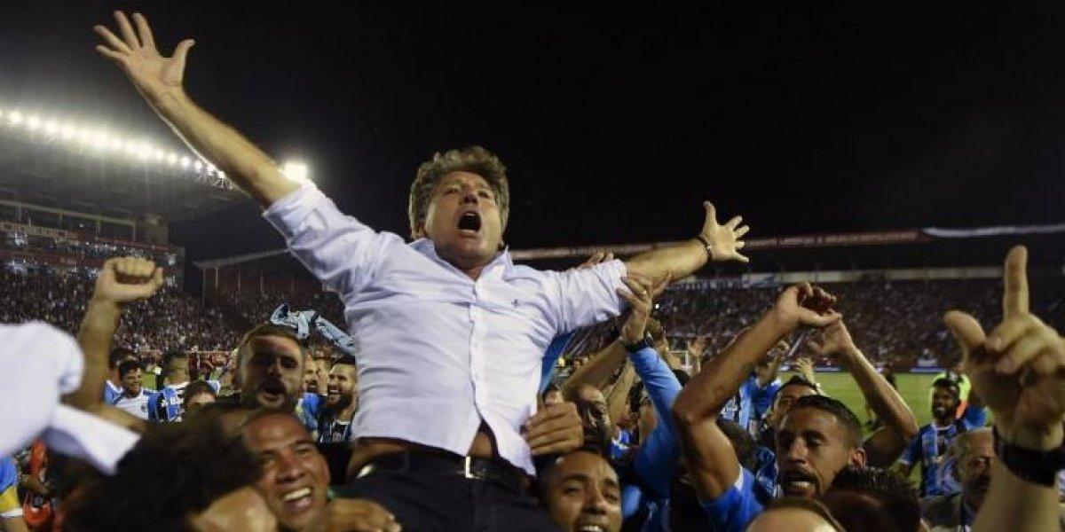Renato Gaúcho, el ídolo de Gremio que llegó a la banca para repetirse el plato de la Libertadores