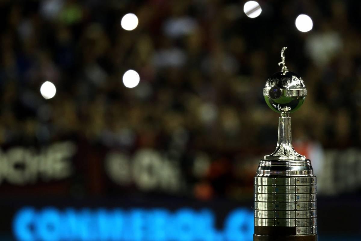 Troféu da Libertadores Marcos Brindicci/Reuters