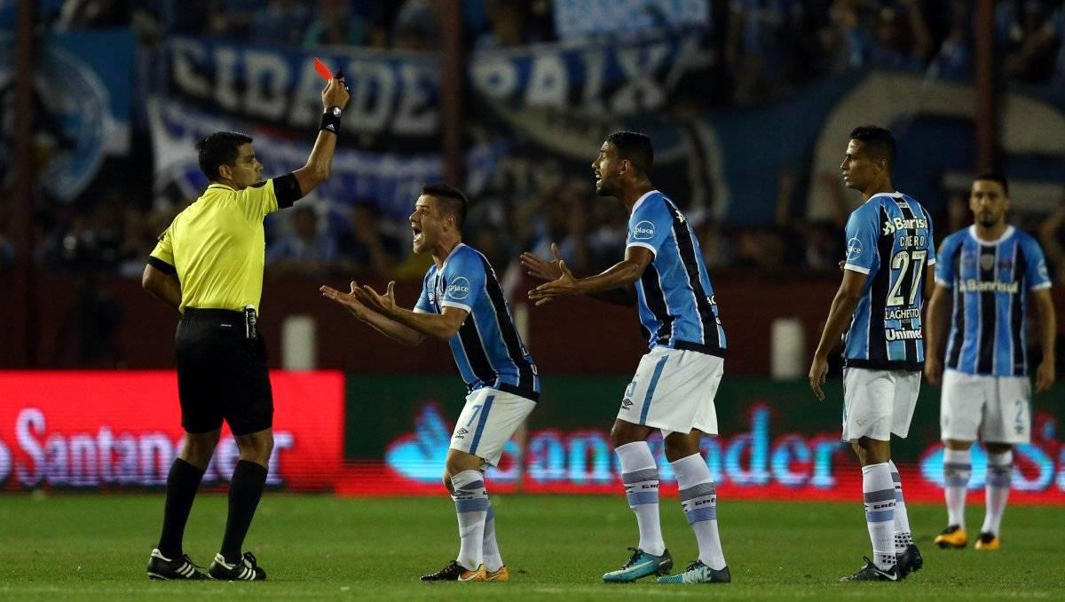 Ramiro foi expulso no segundo tempo Marcos Brindicci/Reuters
