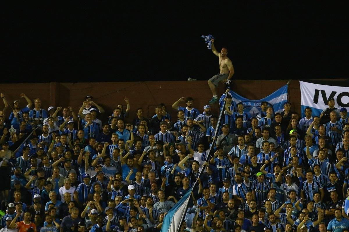 Torcedores do Grêmio na Fortaleza Lucas Uebel/Grêmio