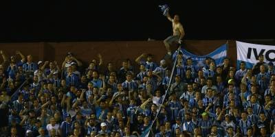 Torcedores do Grêmio na Fortaleza