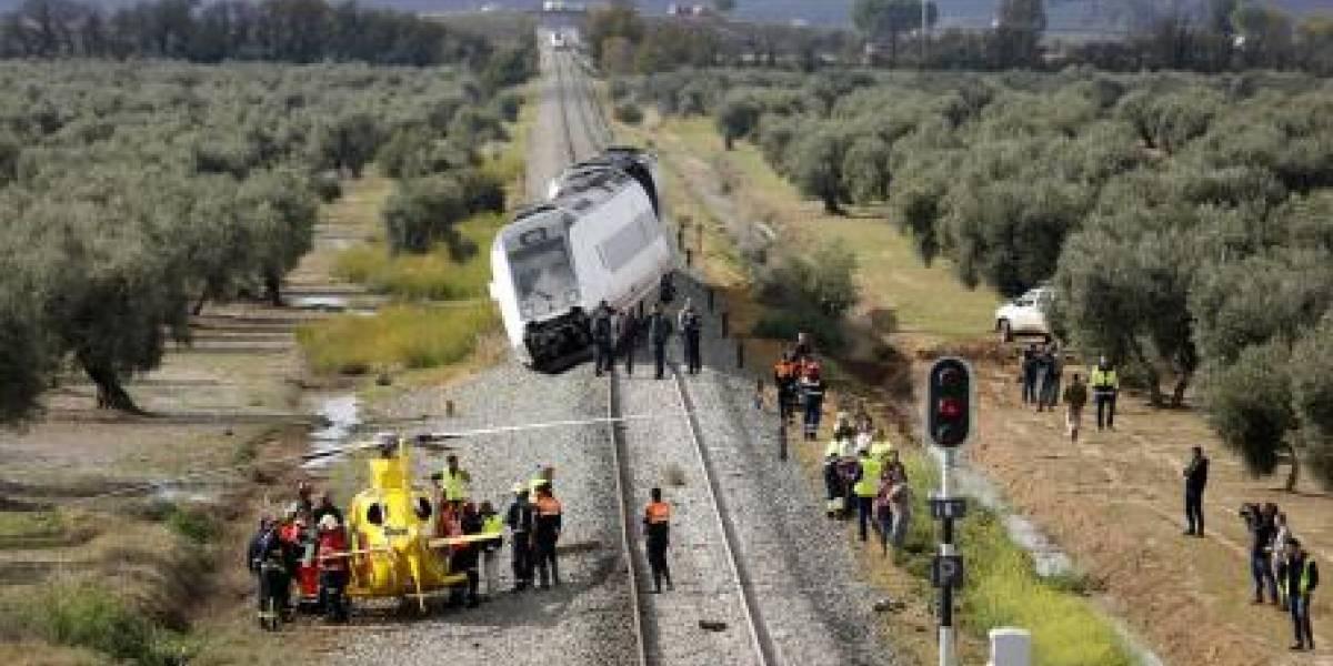 Un tren descarrila en Sevilla y deja 27 heridos