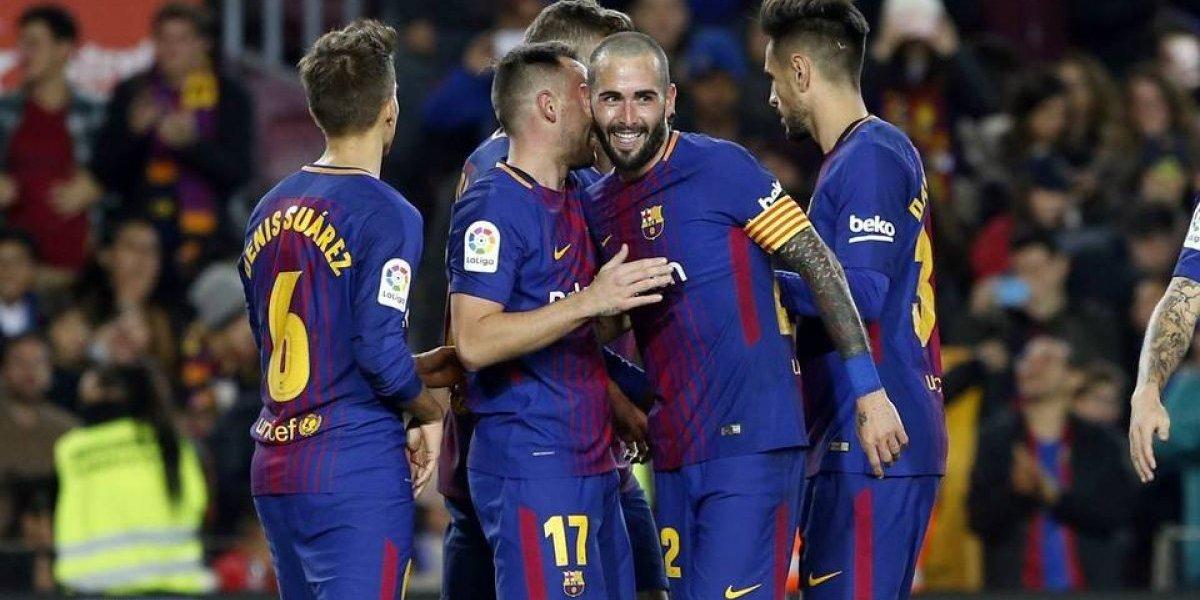 Barcelona supera con facilidad el trámite y avanza a octavos en Copa del Rey