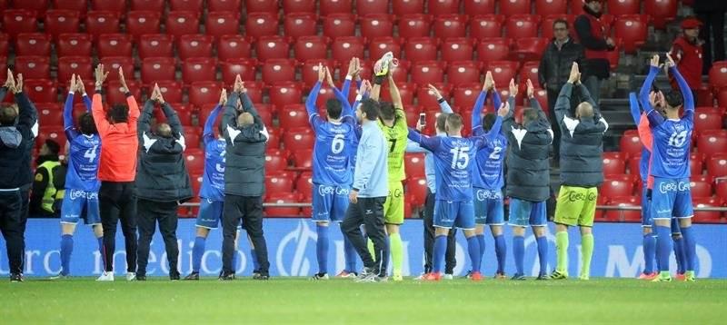 Formentera amargó a Athletic Club de Bilbao / imagen: Agencia EFE