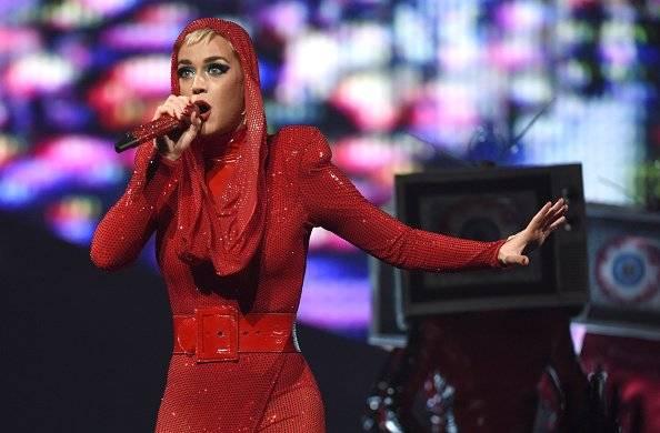 Katy Perry golpeó en la cara a fan en pleno concierto Getty Images
