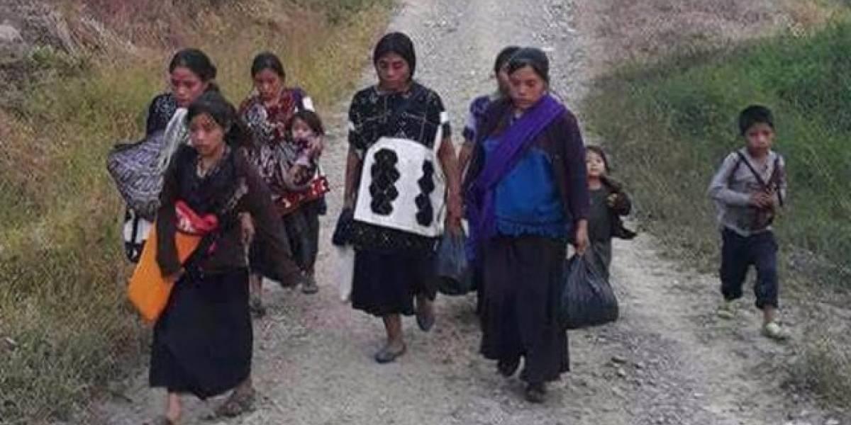 México: el conflicto detrás del drama de 5.000 indígenas desplazados a las montañas de Chiapas por la violencia