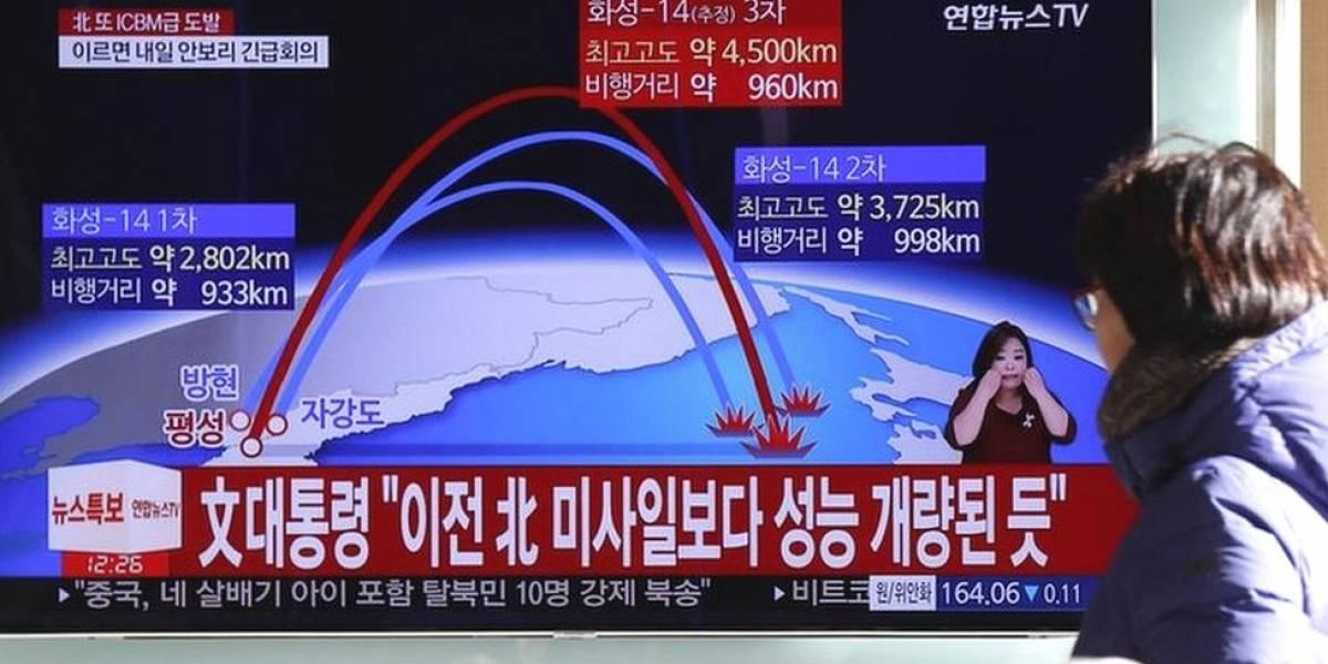 """Qué se sabe del Hwasong-15, el nuevo misil balístico intercontinental lanzado por Corea del Norte capaz de alcanzar a """"todo Estados Unidos"""""""
