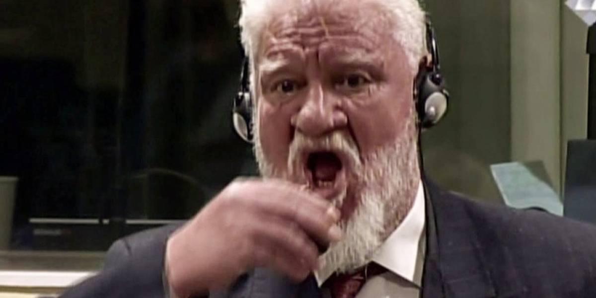 Slobodan Praljak, el criminal de guerra bosnio croata que murió tras beber veneno en pleno juicio en el Tribunal de La Haya