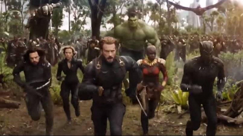 Avengers Infinity War, que se estrenará en los cines en mayo del 2018.