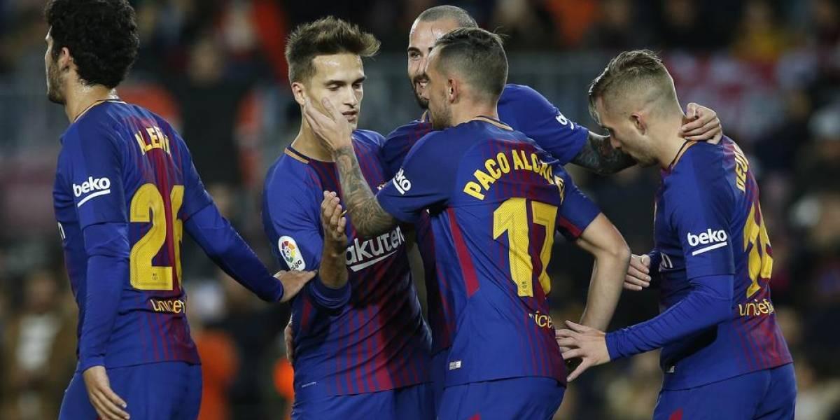 Barcelona sin piedad ante Murcia