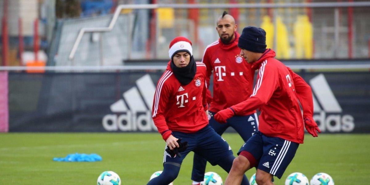 Bayern confirmó estado de salud de James Rodríguez y lo celebra Colombia