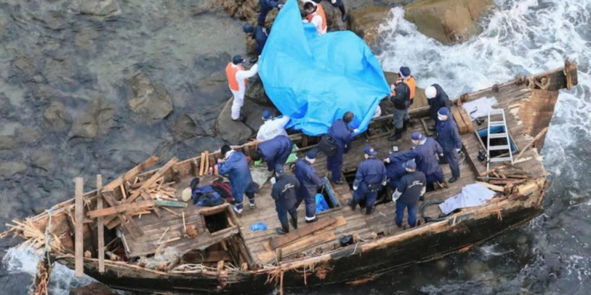 Terror por barcos fantasma llenos de esqueletos en mares asiáticos