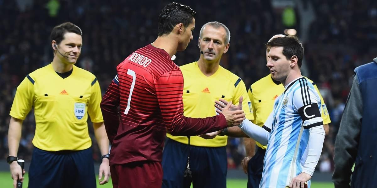 Lo que esperan Messi y Cristiano del sorteo del Mundial
