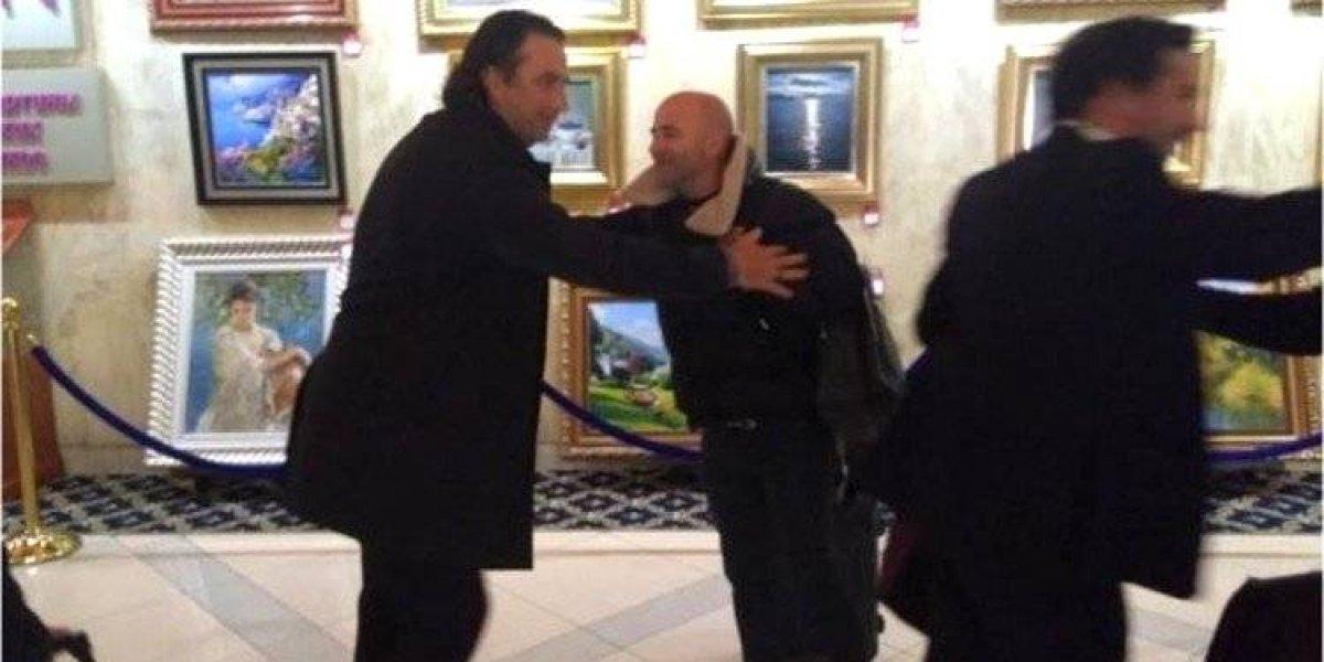 Viudos de La Roja: Sampaoli y Pizzi se encuentran en la previa del sorteo del Mundial