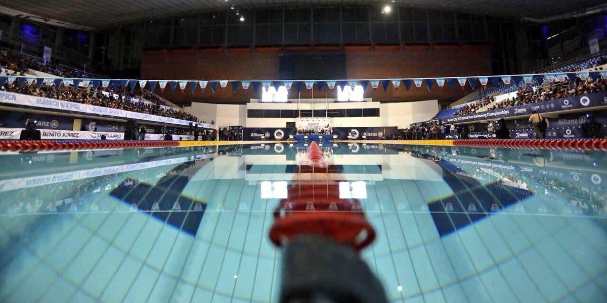 Reinauguraron la alberca olímpica y fosa de clavados Francisco Márquez
