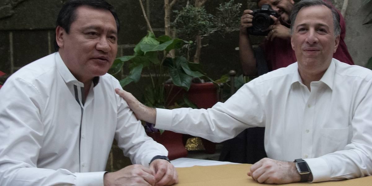 Meade y Osorio Chong se reúnen en restaurante de la CDMX