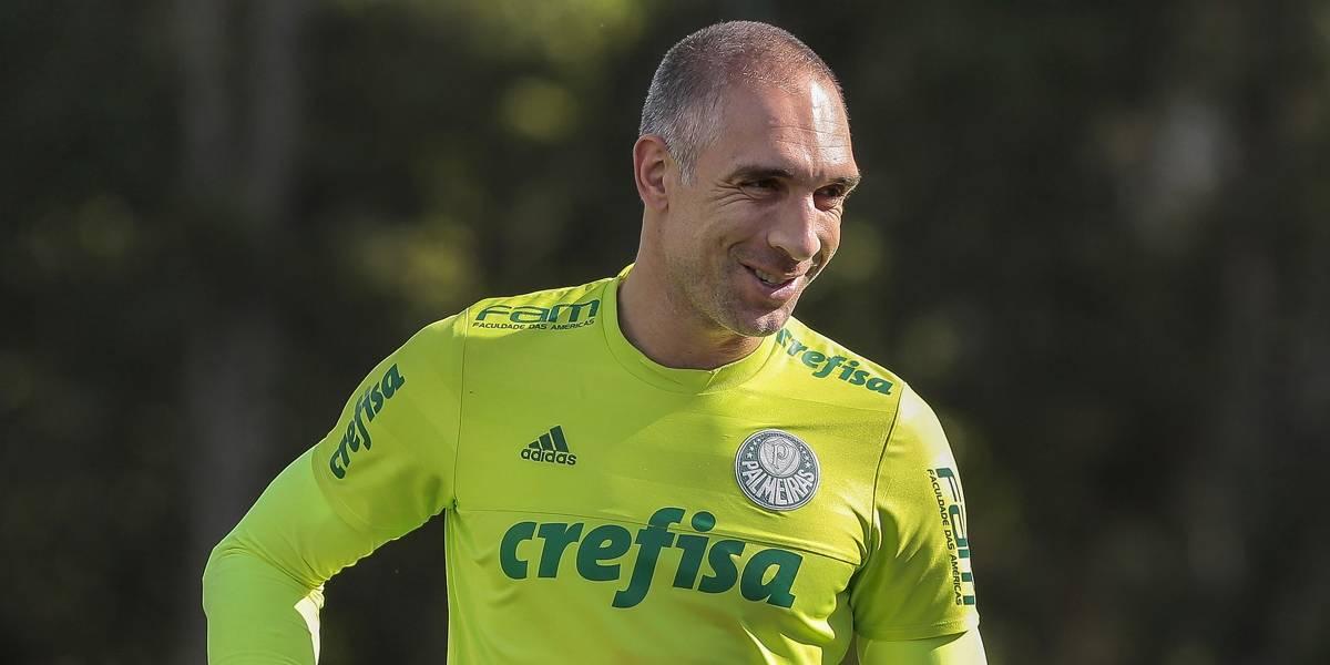 Fernando Prass acerta renovação de contrato com o Palmeiras por mais um ano